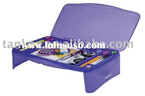 plastic lap desk with storage modern furniture folding writing