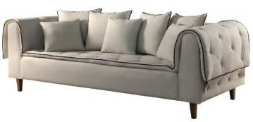 sofa vancouver sof 225 vancouver 3 lugares fixo almofadas bianchi