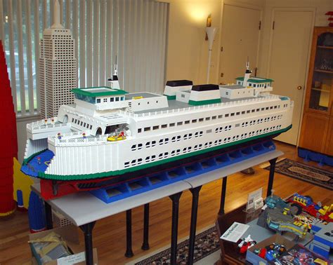 lego ferry boat lego ferry boat what is seen cannot be unseen