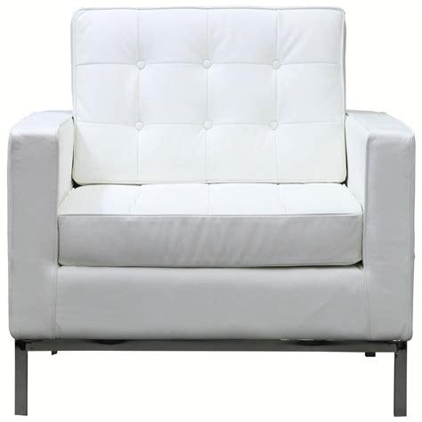 Bateman Leather Armchair White Leather Sofas Leather