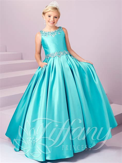 Dress Princes princess 13485 beaded pockets pageant gown