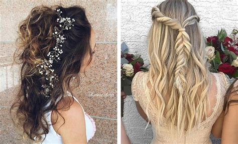 half up half down hairstyles for bridesmaids 31 half up half down hairstyles for bridesmaids stayglam