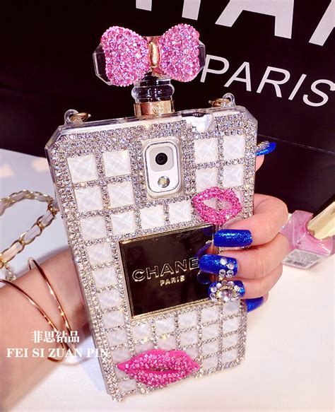 Oppo F 3 Plus Chanel Pretty Pink Flower Caver Hardcase buy wholesale floral chanel perfume bottle for samsung galaxy s6 g920f g9200 pink