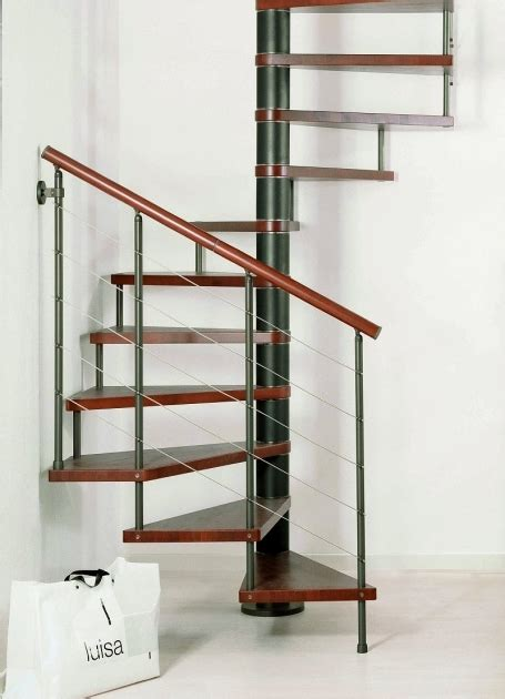 smallest spiral staircase dimensions residential home