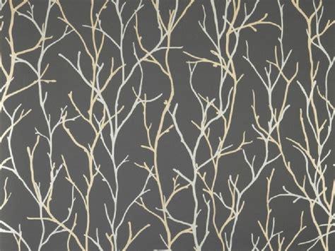 wallpaper grey twigs iliv twig wallpaper silver
