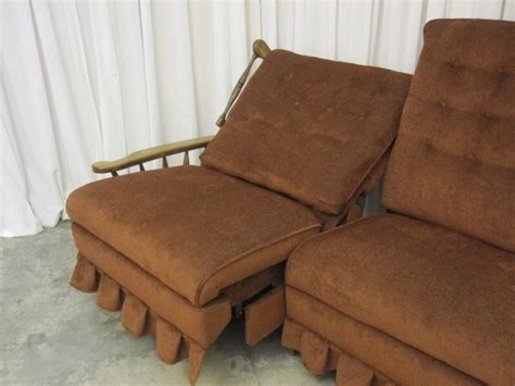 Lazy Boy Wall Hugger Recliners by Vintage Lazy Boy Dual Recliner Seat Wall Hugger New