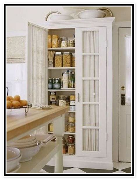 Freestanding Pantry Cabinet For Kitchen Free Standing Kitchen Pantry Cabinets Cdxnd Home Design In Commune