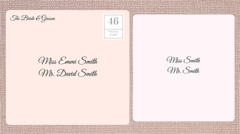 where do you write and guest on wedding invitation how to address wedding invitations southern living