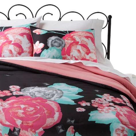 floral bedding target xhilaration 174 floral comforter set target