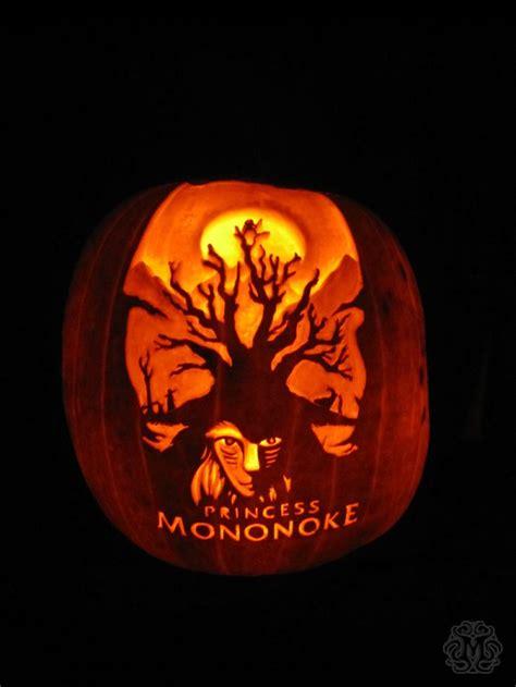 princess mononoke pumpkin carving easy pumpkin carving