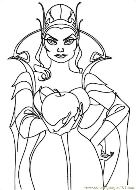 evil queen coloring page disney enchanted evil queen coloring pages sketch coloring