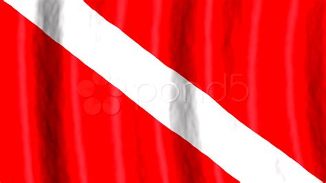 dive flag dive flag stock footage royalty free 204155 pond5