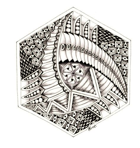 tangle pattern doodle 38 best zentangle triangle shapes images on pinterest