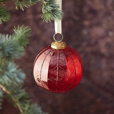 glass globe ornaments cranberry glass globe ornament terrain