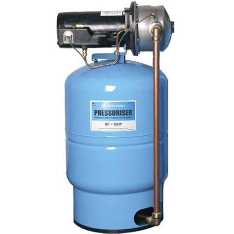 amtrol rp 10hp 10 gpm water pressure booster whole house