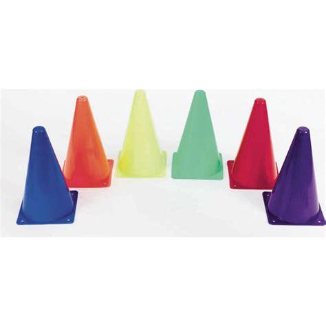 cone walmart 12 quot spectrum cones set of 6 walmart