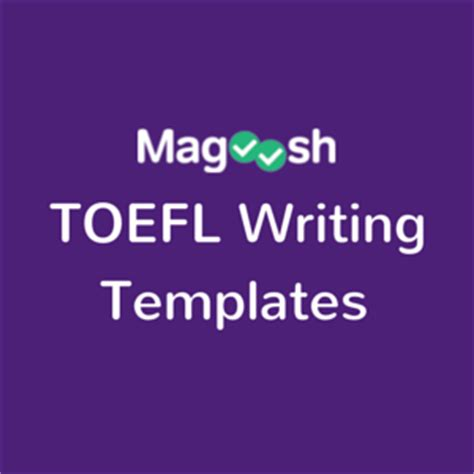Toefl Writing Template