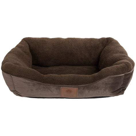 akc dog beds akc orthopedic burnout cuddle dog bed large 25x21