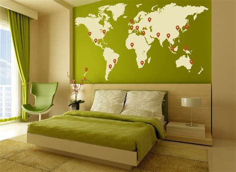 livingroom world living room world map interior wall stickers design