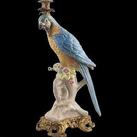 candlestick ls for sale porcelain and bronze parrot candlestick bird