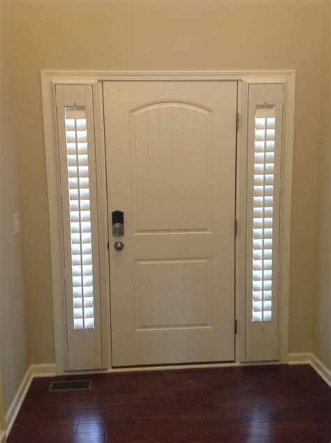 Blinds For Front Doors Best 25 Sidelight Curtains Ideas On Front Door Curtains Door Curtains And Curtains