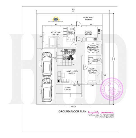 tamilnadu housing design layout pdf 1600 sq ft tamil house plan keralahousedesigns