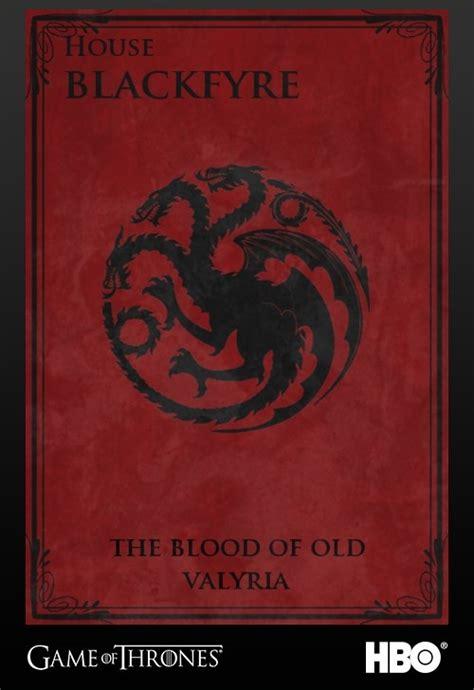 house blackfyre house blackfyre game of thrones pinterest mottos the o jays and black dragon