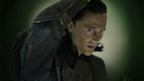 Loki tom hiddleston fan art the avengers (movie) wallpaper