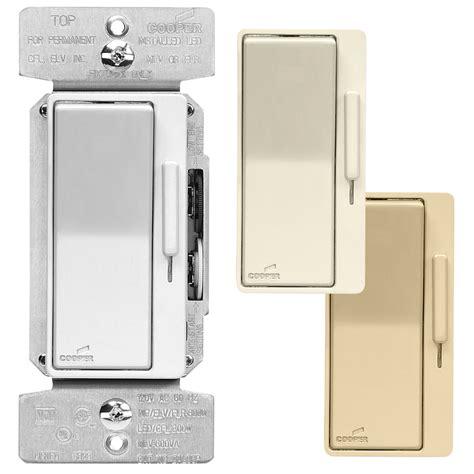 replace light switch with dimmer shop eaton 600 watt single pole 3 way color change kit la