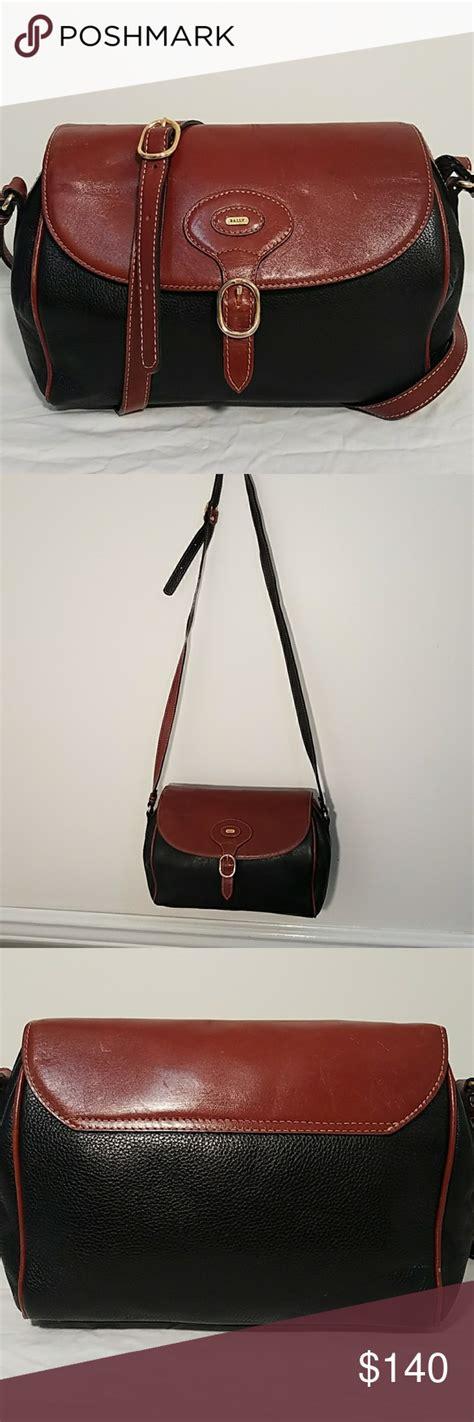 Bally Bag 10 Flap Expendable vintage bally leather bag my posh picks