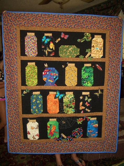 Canning Jar Quilt by 55 Best Jar Quilts Images On Quilt Blocks