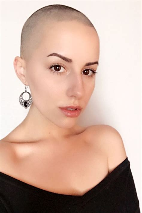 ladies bald haircut video 439 best images about buzzed on pinterest