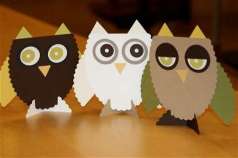 How To Make Paper Owls - this weekend free tips tricks at paper source