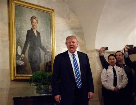 white house email trump picks interesting spot to surprise white house tour