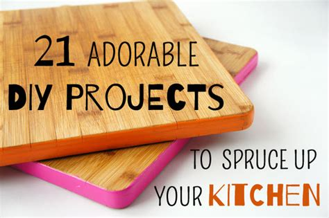 diy kitchen crafts 21 diy projects to spruce up your kitchen