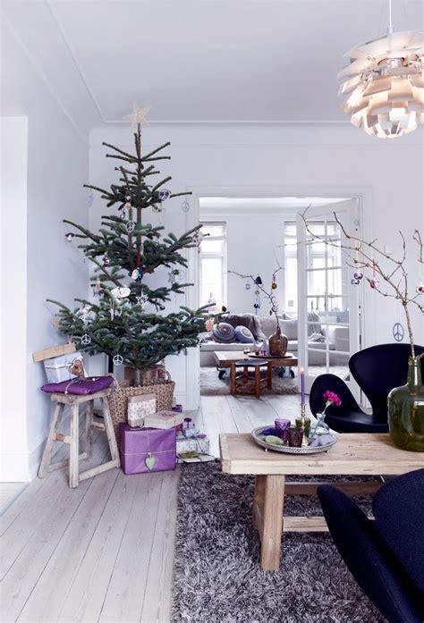 imagenes navidad nordica casa n 243 rdica navidad en lila p 250 rpura y morado paperblog