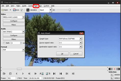 dvd format change how to get started with avidemux edit and convert any