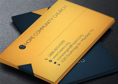 Free Pastor Business Card Templates by Modern Pastor Business Card Template Godserv Market