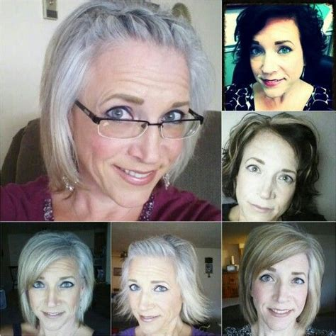 hispanic grey hair transition 1000 images about silver hair on pinterest going gray