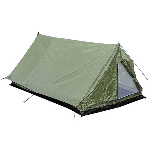 Tenda Ridging mfh 2 person tent minipack with mosquito net od green bashas bivis tents 1st