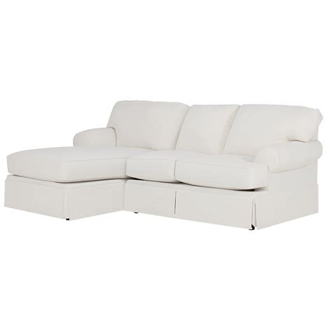 white fabric sectional city furniture turner white fabric left chaise sectional