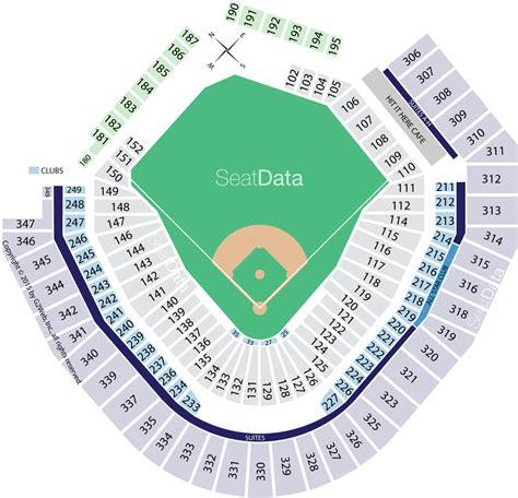 best seats at safeco field safeco field seating chart mariners seating