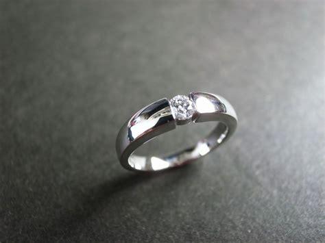 ct brilliant cut wedding diamond ring   white