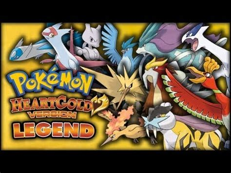 Pokémon HeartGold/SoulSilver Legendary Pokémon Round Up YouTube