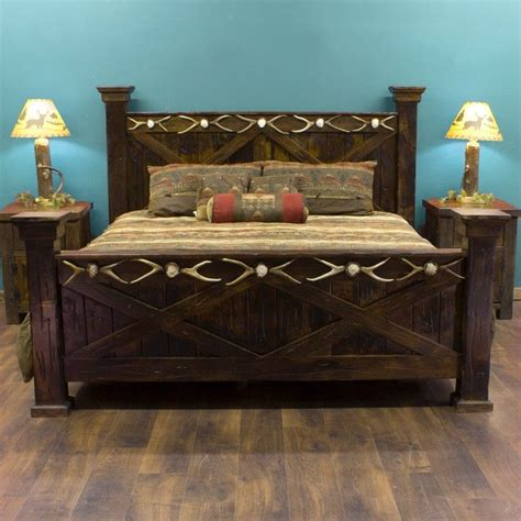 best 25 rustic bed frames ideas on rustic