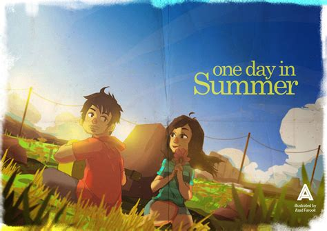 This One Summer one day in summer by asadfarook on deviantart
