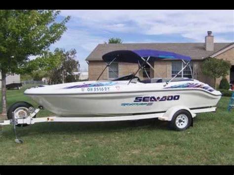 bimini tops for sea doo boats seadoo sportster 1800 twin engine jet boat for sale call