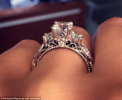 the most popular engagement ring on has been