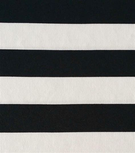 black and white knit fabric spirit collection stripe knit black white