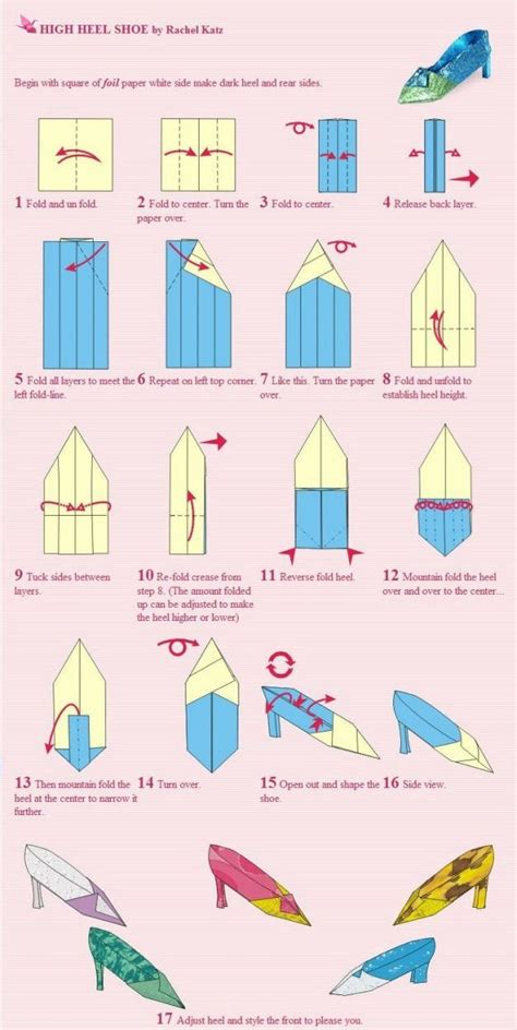How To Make Origami Shoes - origami shoes tutorial papercrafts origami